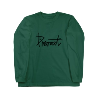 PRONEETサインロゴ Long sleeve T-shirts