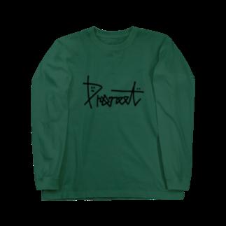 プロニート公式ネットショップのPRONEETサインロゴ Long sleeve T-shirts
