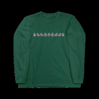 どんぐり商店のぐるぐるホーランドロップちゃん Long sleeve T-shirts