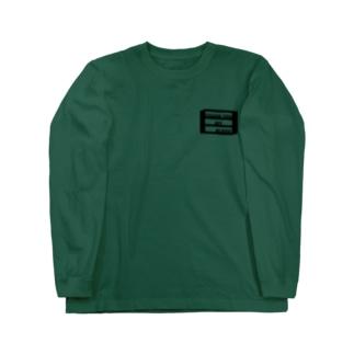 オル棚ロングTeeブラック Long sleeve T-shirts