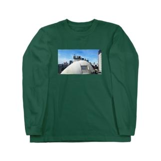 ラブホテルとライブハウスと換気扇 Long sleeve T-shirts