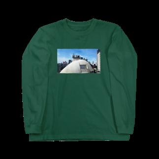 ハナイトのラブホテルとライブハウスと換気扇 Long sleeve T-shirts