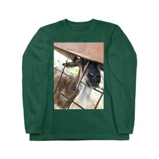 ヤギヤギ Long sleeve T-shirts