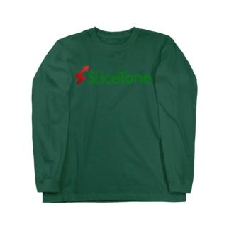 Slicetone OfficialのSlicetone公式グッズ Long sleeve T-shirts