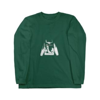 アラビア語パーカー柄 Long sleeve T-shirts