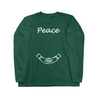 peace (復刻版) Long sleeve T-shirts