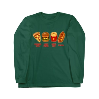 ジャンクフード コンボ Long sleeve T-shirts