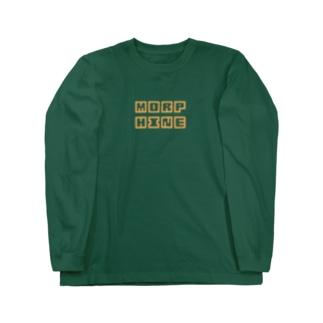 第2弾 ロングスリーブTシャツ オレンジ Long sleeve T-shirts