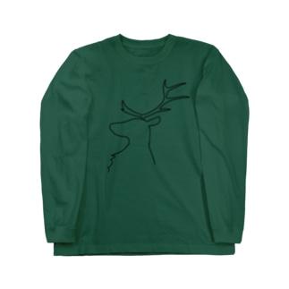 トナカイ  Long sleeve T-shirts