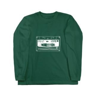 カセットテープ Long sleeve T-shirts