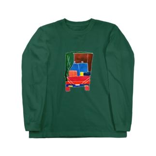 丸見えトラック Long sleeve T-shirts