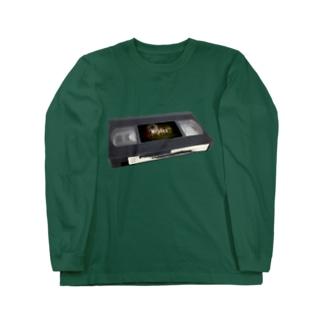 replay_VHS Long sleeve T-shirts