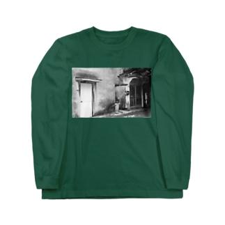 film photo -ふたつの扉- Long sleeve T-shirts