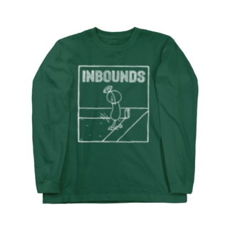 PBスティック君 inbounds Long sleeve T-shirts