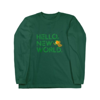 Hello, new world. Long sleeve T-shirts