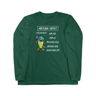 メカミント/NO.003 Long sleeve T-shirts