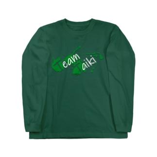 TEAM TAIKI_splash Long sleeve T-shirts