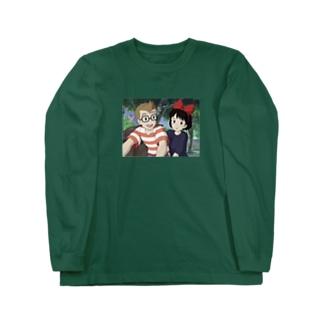 魔女の宅急便 Long sleeve T-shirts