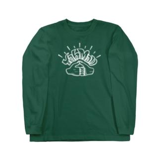 YahMan【濃色ベース】 Long sleeve T-shirts
