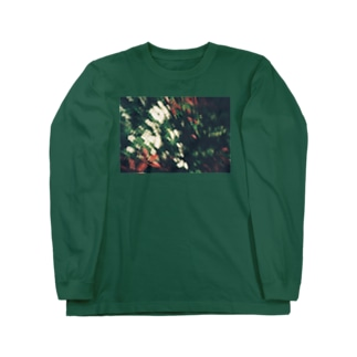 「華」 Long sleeve T-shirts