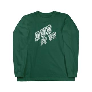 DUB IT UP【濃色ベース】 Long sleeve T-shirts