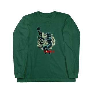 【X 汚職警官 X】 Long sleeve T-shirts
