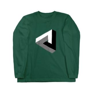 ペンローズの三角形-201025 Long sleeve T-shirts