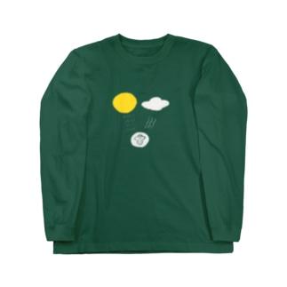 北風と太陽 Long sleeve T-shirts