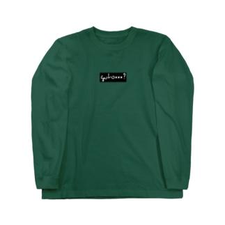 行き先はNAGOYA  SAKAE Long sleeve T-shirts