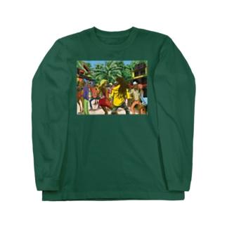 Jamaican Dance Long sleeve T-shirts
