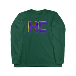 重複HCカラフルver. Long sleeve T-shirts