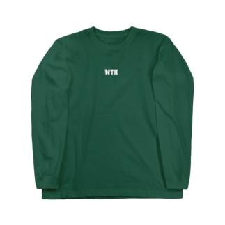 WTK ロゴ Long sleeve T-shirts