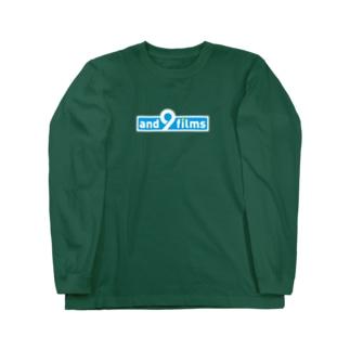 アンドナインロゴ(BLUE)Tシャツ Long sleeve T-shirts