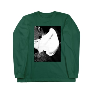 OLD_PORTモノクロ Long sleeve T-shirts