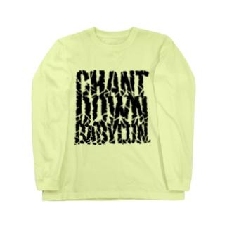 CHANT DOWN BABYLON【淡色ベース】 Long Sleeve T-Shirt