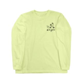 ふぁーむbuffoロゴ 長袖Tシャツ Long Sleeve T-Shirt