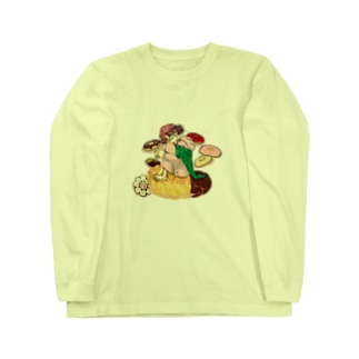 ドーナツ夢 Long Sleeve T-Shirt