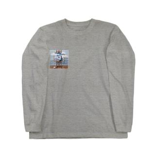 ぺ ロングスリーブTシャツ
