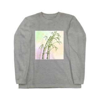 和竹 ロングスリーブTシャツ