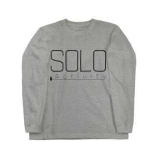 SOLO Activity [Black] ロングスリーブTシャツ