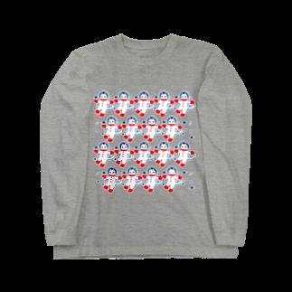 宇宙フォークダンス ロングスリーブTシャツ