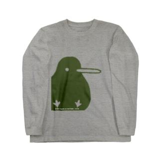 でっかいキキちゃん(淡色用) ロングスリーブTシャツ