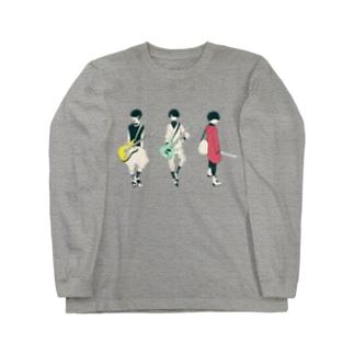 ギター&ベース男子 ロングスリーブTシャツ