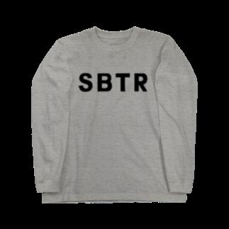 SHOP W SUZURI店のSBTR ロングスリーブTシャツ。 ロングスリーブTシャツ