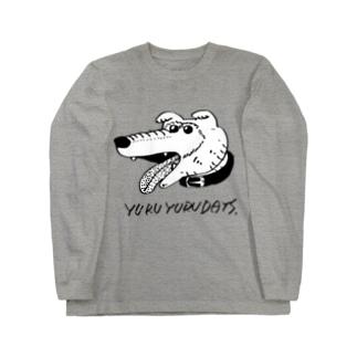 simple inu ロングスリーブTシャツ