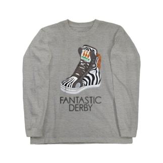 Fantastic Derby(シマウマ) ロングスリーブTシャツ