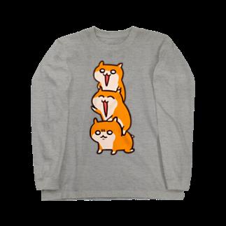 NORICOPOのクソハムトリオロングスリーブTシャツ