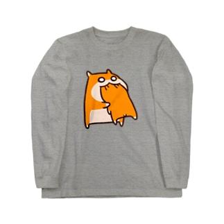 共食い ロングスリーブTシャツ