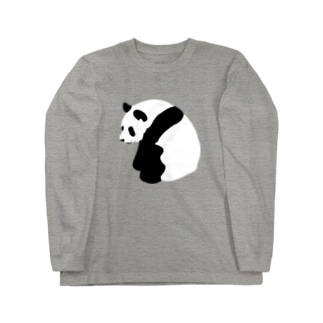 PANDA ロングスリーブTシャツ