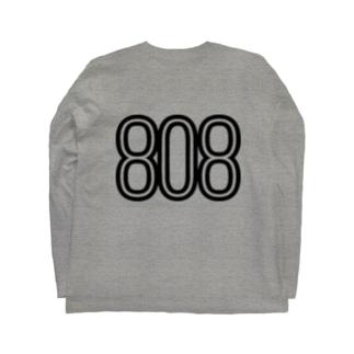 808 - BOB ※BLACK LOGO Long sleeve T-shirts